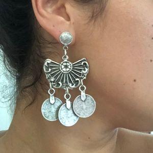 Italian Silver Gypsy Earrings